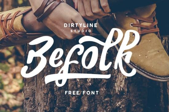 Befolk Free Font