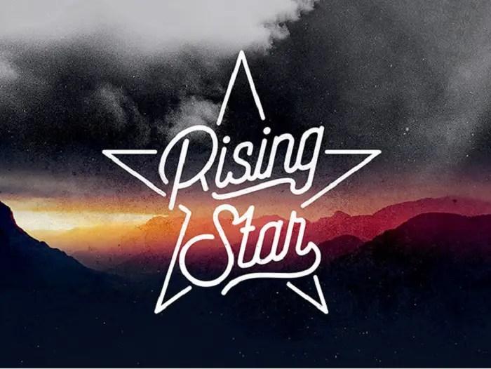 Rising Star Monoline Script