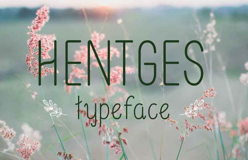 Hentges FREE Typeface