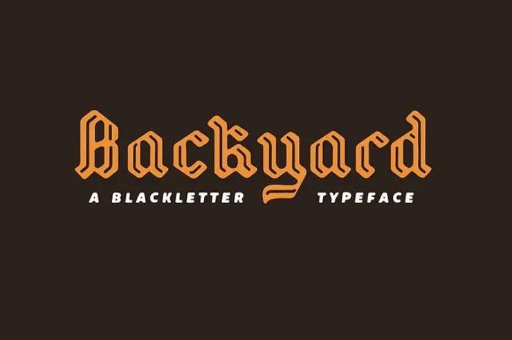 Beautiful Blackletter Fonts