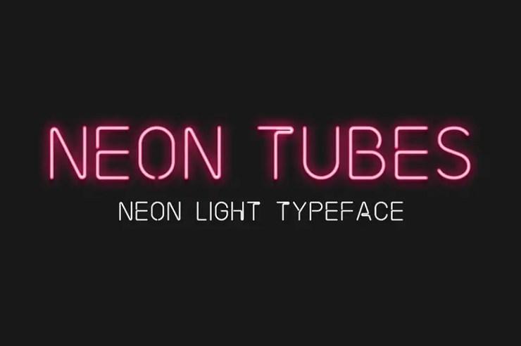 Neon Fonts
