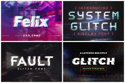 Glitch Fonts