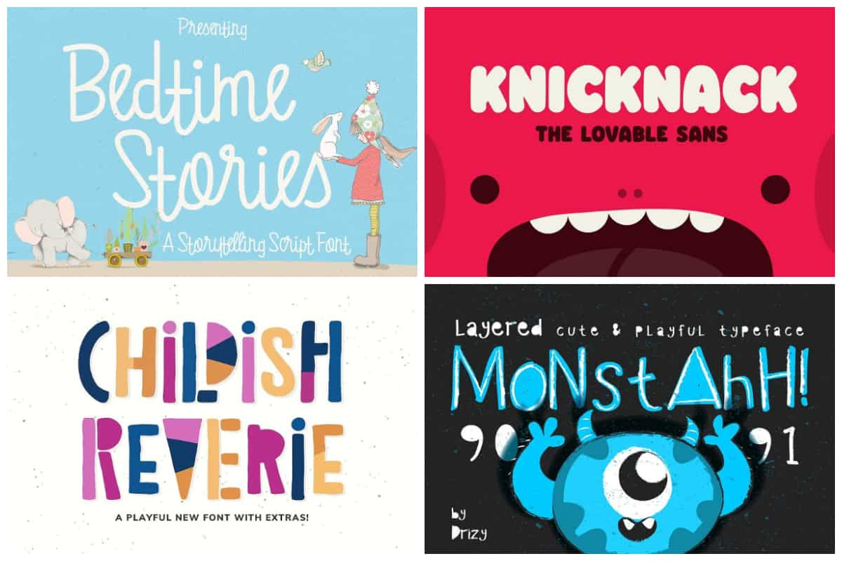 27 Lovable And Playful Fonts For Kids Hipfonts