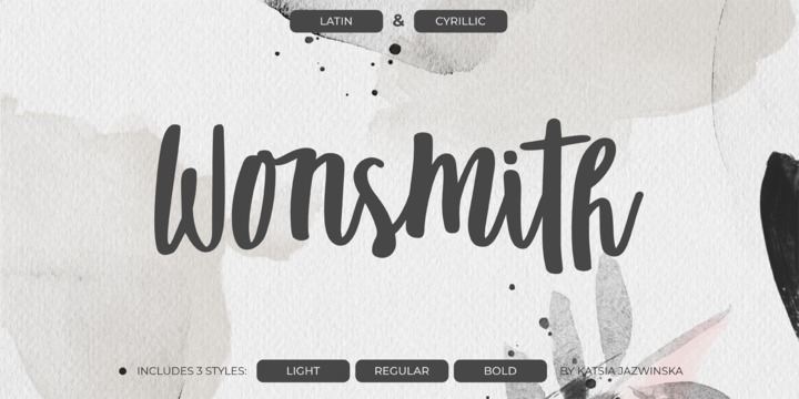 Wonsmith Font Family