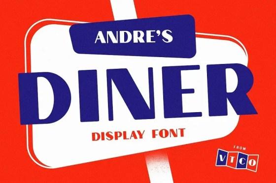 Vintage Diner Fonts