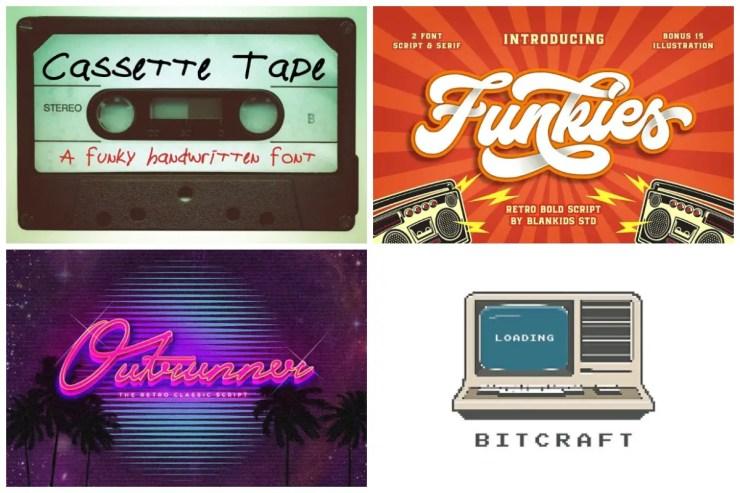 1980s Fonts