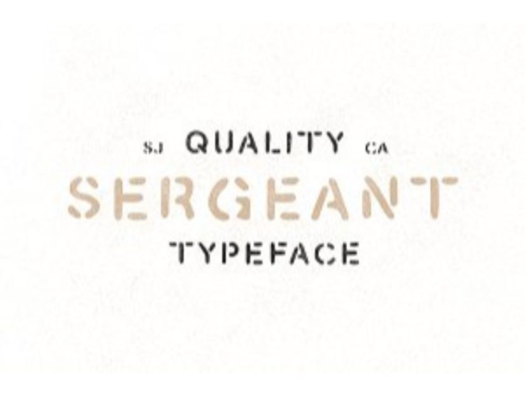 Stencil Fonts