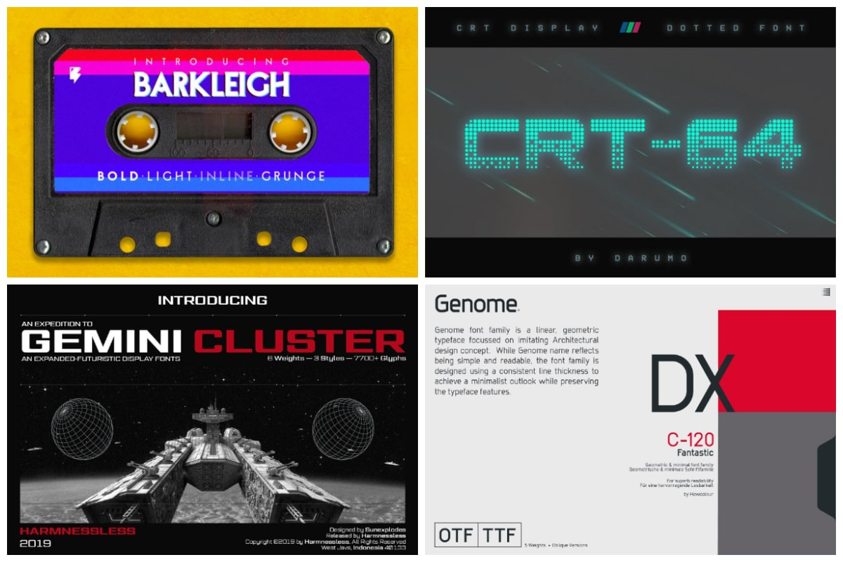 10 Glitch Fonts That Will Help You Step Into The Future Hipfonts
