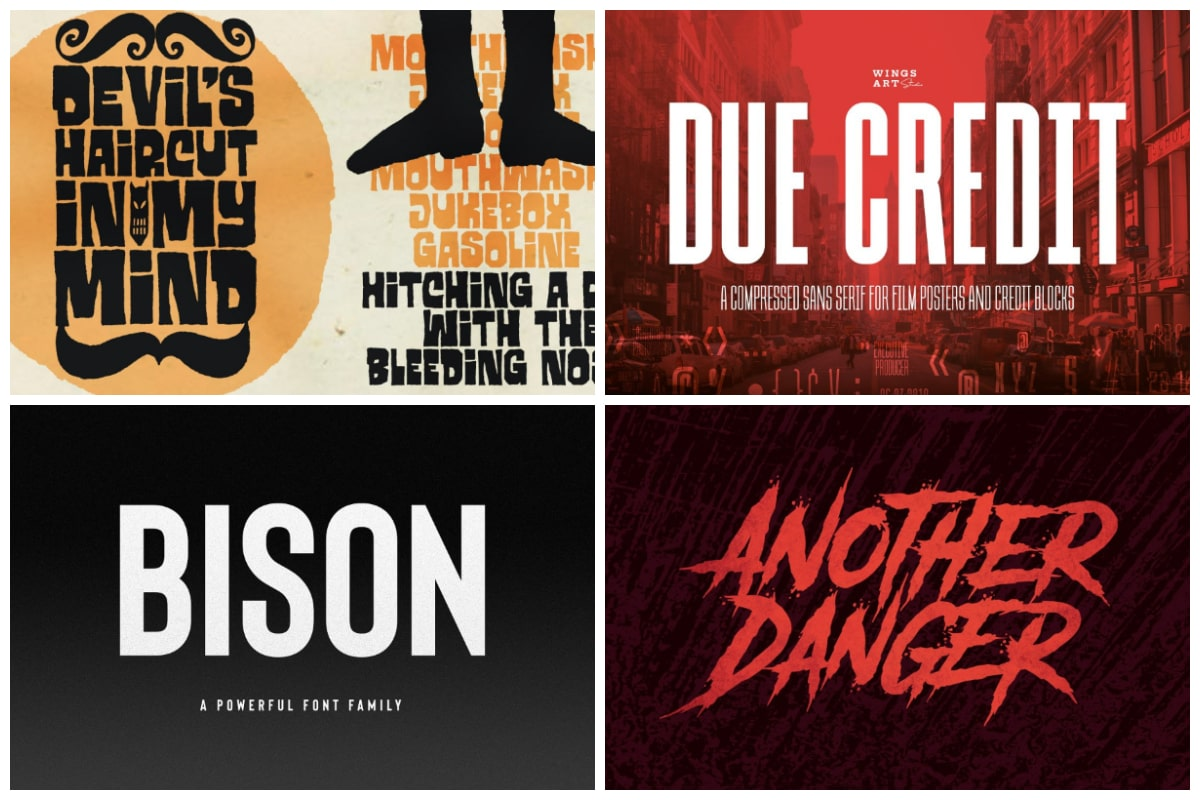 33 standout poster fonts to attract all