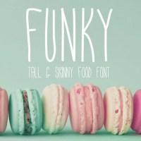 Funky - Food Font