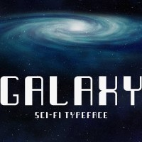 Galaxy - Sci-fi Typeface