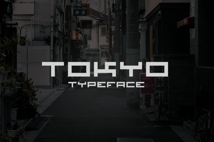 tokyo typeface
