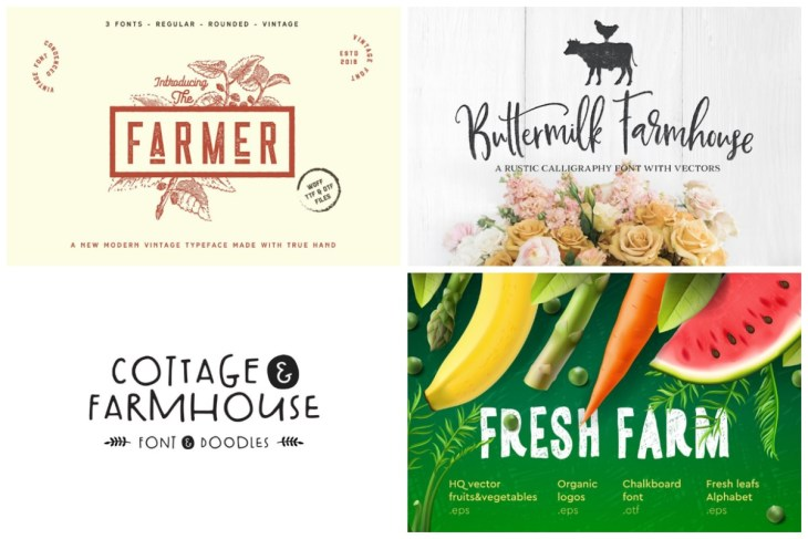 Farmhouse Fonts min