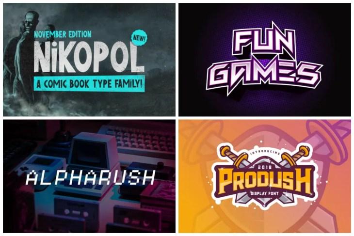 Fun Gaming Fonts min