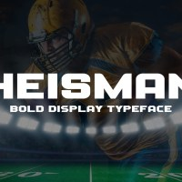 Heisman - Sports Display Typeface