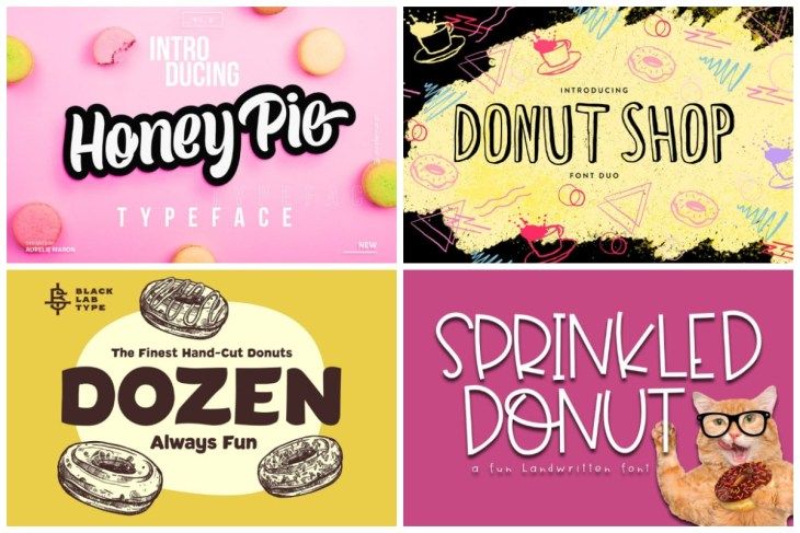 Donut Fonts cover min