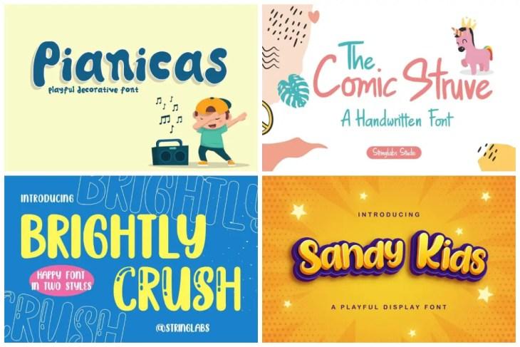 preschool fonts cover min