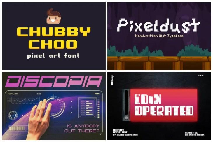 Arcade Fonts cover min