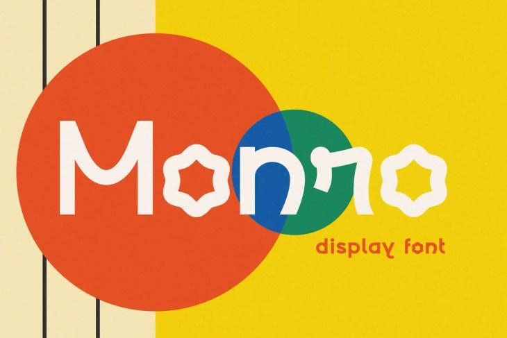Monroe Display Font min