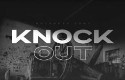 knockout font
