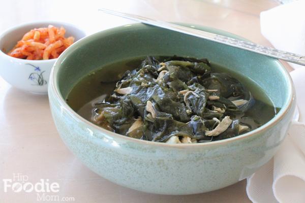 Korean Seaweed Soup Recipe