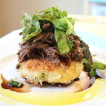 Special Pot Roast with Risotto Cakes