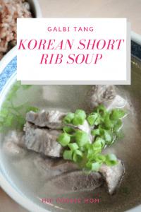How To Make Galbi Tang - Korean Short Rib Soup