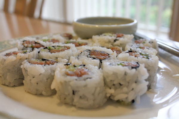 Spicy Tuna Roll3-4