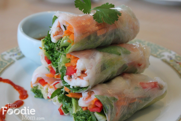 Light, fresh & packed with vegetables, Asian Spring Rolls are filling, healthy and versatile. Fill these babies with an assortment of the veggies you want! #asianfood #chinesenewyear #lunarnewyear