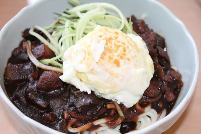 Jajangmyeon: Korean Noodles with Black Bean Sauce