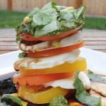 Caprese Tower Salad