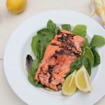 Kickin' It Healthy with Balsamic-Glazed Salmon
