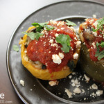 Stuffed Bell Peppers with Orzo (2.0)