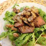 Arugula Salad with Grilled Tri-Tip