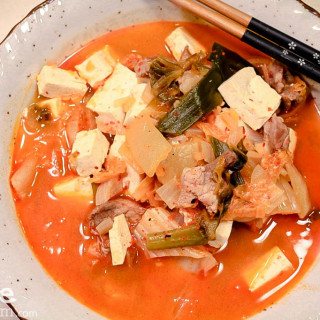 Kimchi Jjigae Korean Soup
