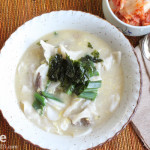 Korean Food: Duk Mandu Guk for New Year's Day!