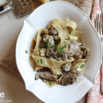 Pappardelle with Mushrooms
