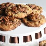Chocolate Pecan Caramel Cluster Cookies!!