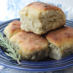 Kicking off 2013 with Rosemary Olive Oil Bread for #TwelveLoaves