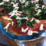 Vegan Tofu Kale Lasagna! Guest Post from One Happy Table!