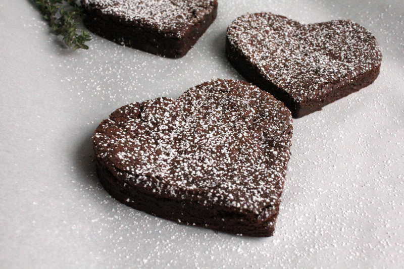 Flourless chocolate cakes for those you love on Valentine's Day!