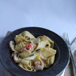 Creamy Lobster Pappardelle