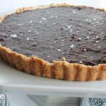 Bittersweet Chocolate Hazelnut Tart