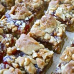 A Guest Post: Brass Monkey and Peanut Butter and Jam Cookie Bars