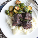 Braised Beef Short Ribs for an Anniversary Dinner