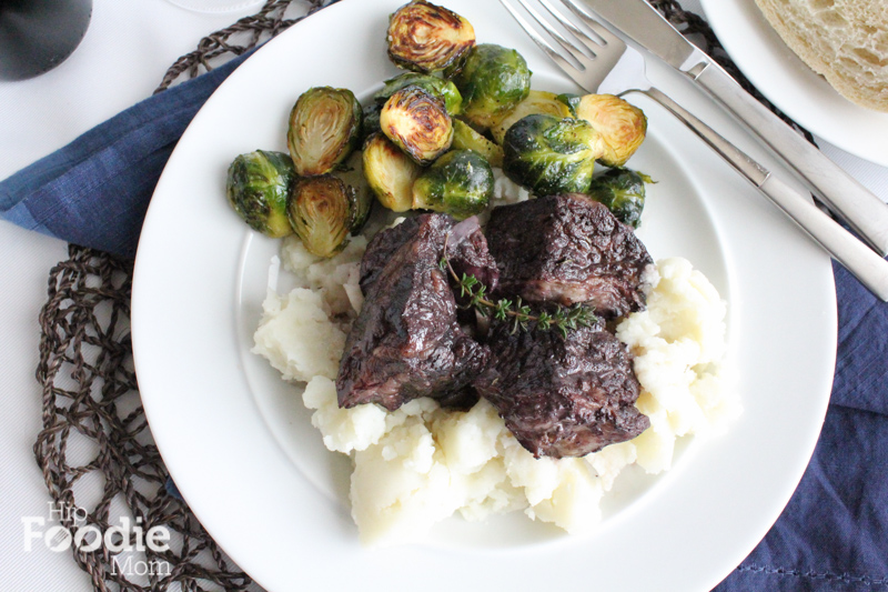 Braised Beef Short Ribs for an Anniversary Dinner! Delicious, braised, fall off the bones beef short ribs. This is so delicious!