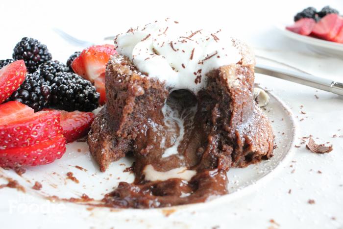 chocolate lava cake gush_2 | Hipfoodiemom.com