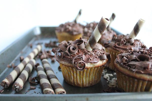 Chocolate Banana Cupcakes tray3 | HipFoodieMom.com