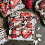 Toast with Honey Mascarpone and Nutella