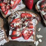 Toast with Honey Mascarpone and Nutella